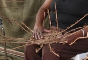Basket Weaving with Cat's Claw